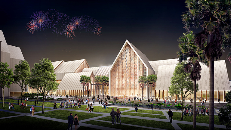 THAILAND CULTURAL CENTER PHASE 2